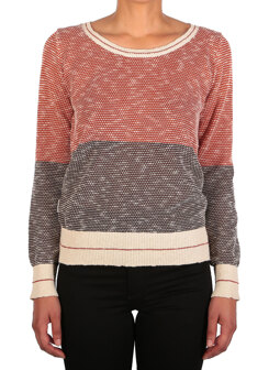 2 Tone Biquet Knit [earth red]