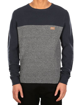 Auf Deck Stripe Knit [dark steel]
