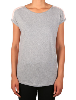 Backside Tee [grey-mel.]