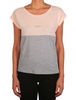 Block Girl Tee [grey-mel.]