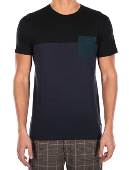 Block Pocket 2 Tee [dark orion]