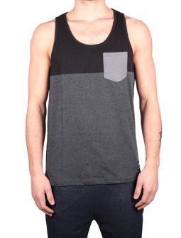 Block Pocket Tank [black]