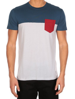 Block Pocket Tee [silvergrey]