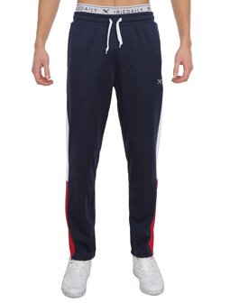 Block Steady Pant [navy red]