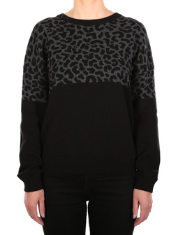 Blotchy Knit [black]