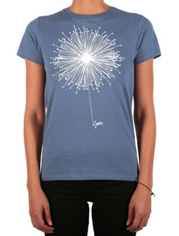 Blowball Tee [dusty blue]