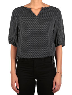 Blurred Blouse [black]