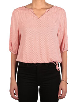 Blurred Blouse [salmon]