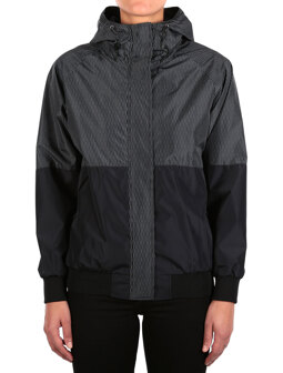 Blurred Jacket [black]