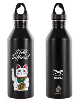 Bye Bye Cat Bottle [black]