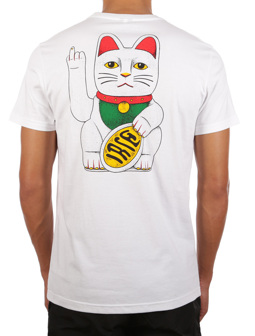 Bye Bye Cat Tee [white]