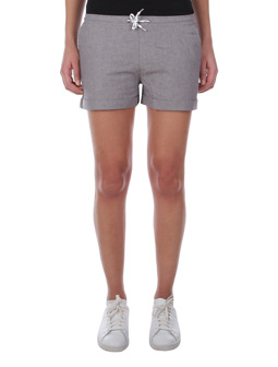 Chambray Girl Short [grey-mel.]