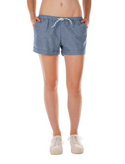 Chambray Girl Short [jeansblue]