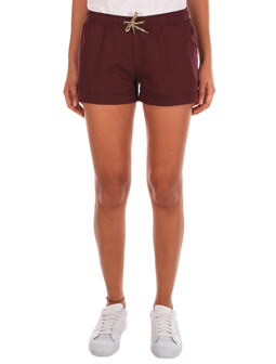 Chambray Girl Short [maroon mel.]