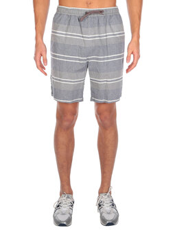Chambstripe Short [greyblue]
