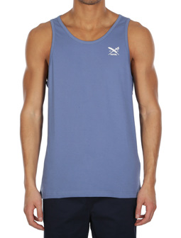 Chestflag Tank [dusty blue]