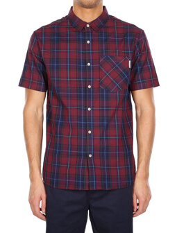 Chillo Valle SSL Shirt [navy red]