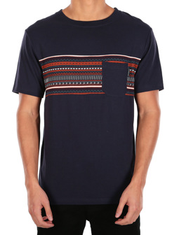 Chop Chop Pocket Tee [navy]