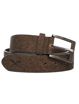 Cork Flag Belt [d brown]