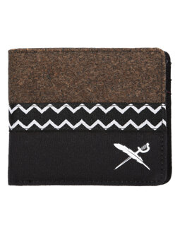 Cork Mix Wallet [black]
