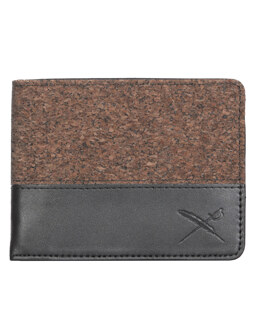 Cork On Wallet [black]