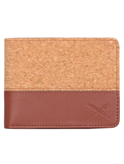 Cork On Wallet [cognac]