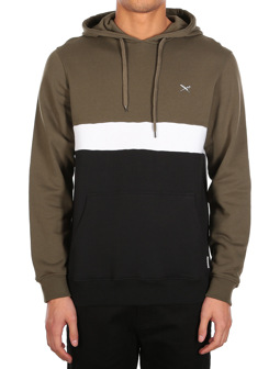 Court Hoody [black olive]