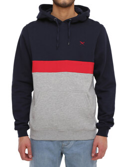 Court Hoody [navy red]