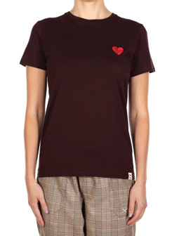 Cuddle Girl Tee [aubergine]