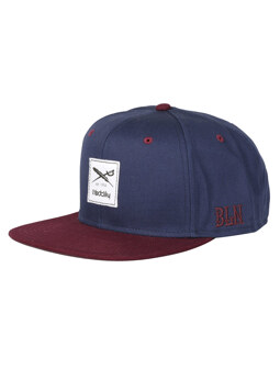 Daily Contra Snapback [navy red]