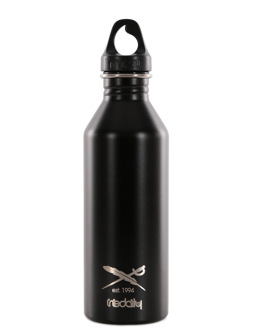 Daily Flag Bottle [black]