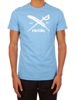 Daily Flag Tee [azure]