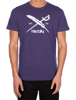 Daily Flag Tee [dark purple]