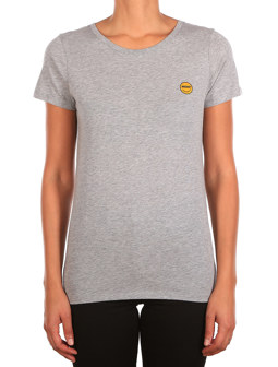Daily Smile Tee [grey-mel.]