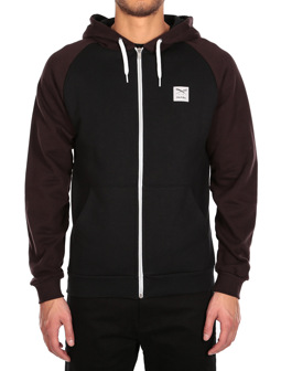 De College 2 Zip Hood [chocolate]