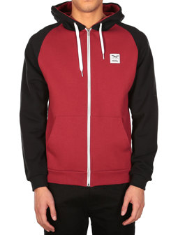 De College Zip Hood [earth red]