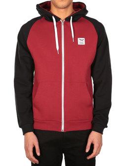 De College Zip Hood [earth red]