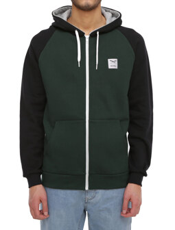 De College Zip Hood [hunter]