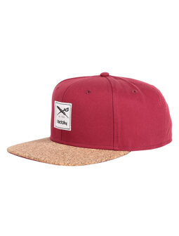 Exclusive Cork Cap [maroon]