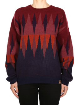 Fady Knit [red wine]