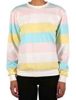 Fat Stripe Sweat [multi color]