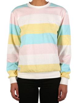 Fat Stripe Sweat [multi color]