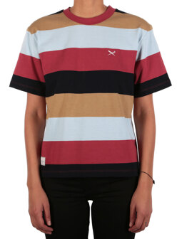 Fat Stripe Tee [navy khaki]