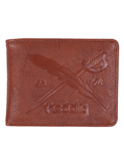 Flag 2 Punch Wallet [chocolate]