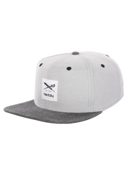 Flag Chambray Snapback [grey-mel.]