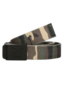 Flag Rubber Belt [camou olive]