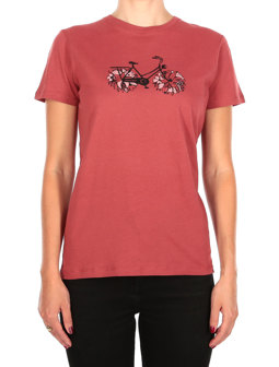 Flower Bike Tee [masala]
