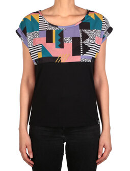 Funky Block Tee [crazy color]