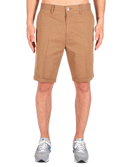 Golfer Chambray Short [caramel]