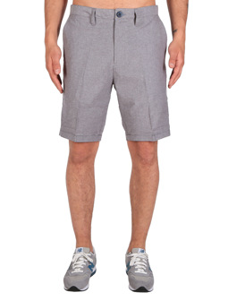 Golfer Chambray Short [grey-mel.]
